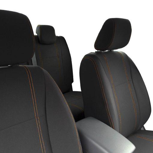Custom Fit, waterproof Neoprene Mazda BT-50-UR FULL-BACK Front & REAR Seat Covers (PRIX Edition).
