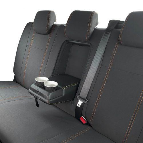 Custom Fit, waterproof, neoprene Mazda BT-50-UR REAR Seat Cover (PRIX Edition).