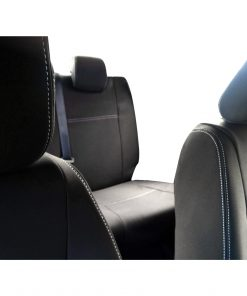 Custom Fit, waterproof, neoprene Mazda BT FULL-BACK Front & REAR Seat Covers.