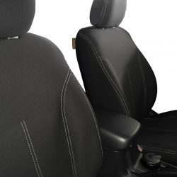 Custom Fit, Waterproof, Neoprene Mitsubishi Triton MQ FULL-BACK Front Seat Covers.