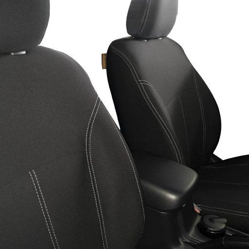 Custom Fit, Waterproof, Neoprene Mitsubishi Triton MQ FULL-BACK Front Seat Covers.
