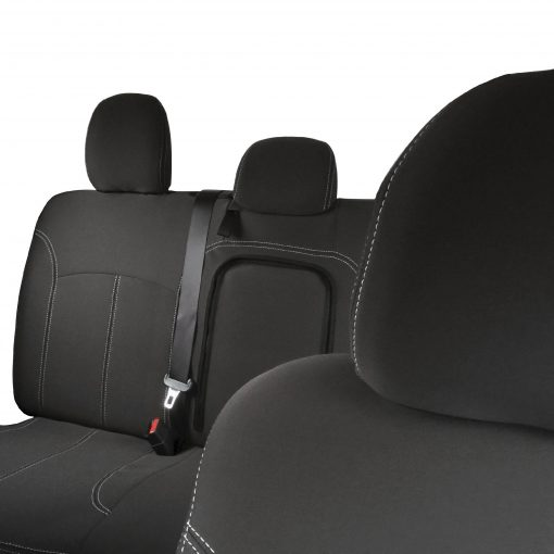 Custom Fit, Waterproof, Neoprene Mitsubishi Triton MQ FULL-BACK Front & REAR Seat Covers.
