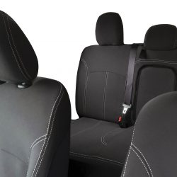 Custom Fit, Waterproof, neoprene Mitsubishi Triton MQ FRONT & REAR Seat Covers.