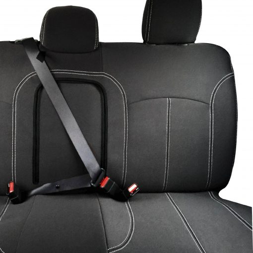 Custom Fit, Waterproof, Neoprene Mitsubishi Triton MQ REAR Seat Cover.