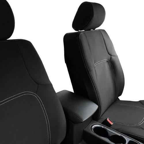 Custom Fit, Waterproof, Neoprene Nissan Navara D40 FRONT Seat Covers.