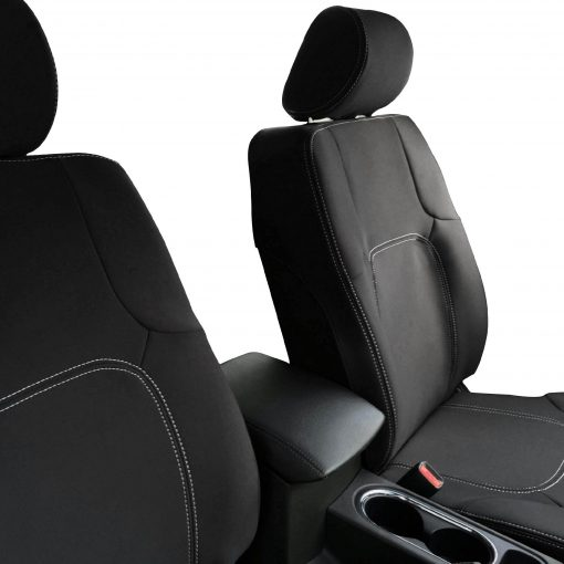 Custom Fit, Waterproof, Neoprene Nissan Navara D40 FRONT Seat Covers.