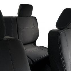 Custom Fit, Waterproof, Neoprene Nissan Navara D40 FRONT & REAR Seat Covers.
