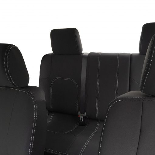 Custom Fit, Waterproof, Neoprene Nissan Navara D40 FULL-BACK Front & REAR Seat Covers.