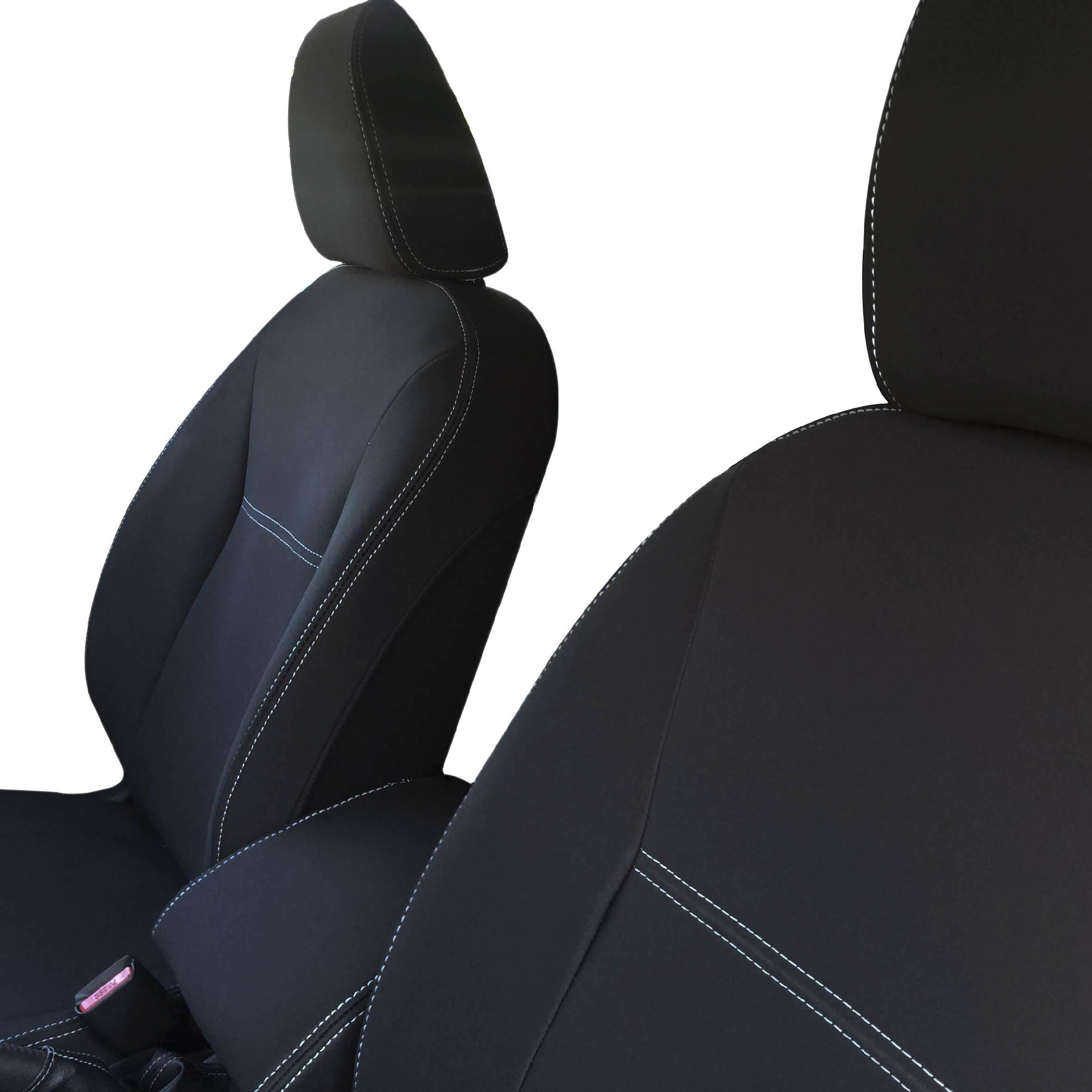 HOLDEN COLORADO FULL BACK FRONT PAIR PREMIUM WATERPROOF NEOPRENE CAR SEAT COVERS