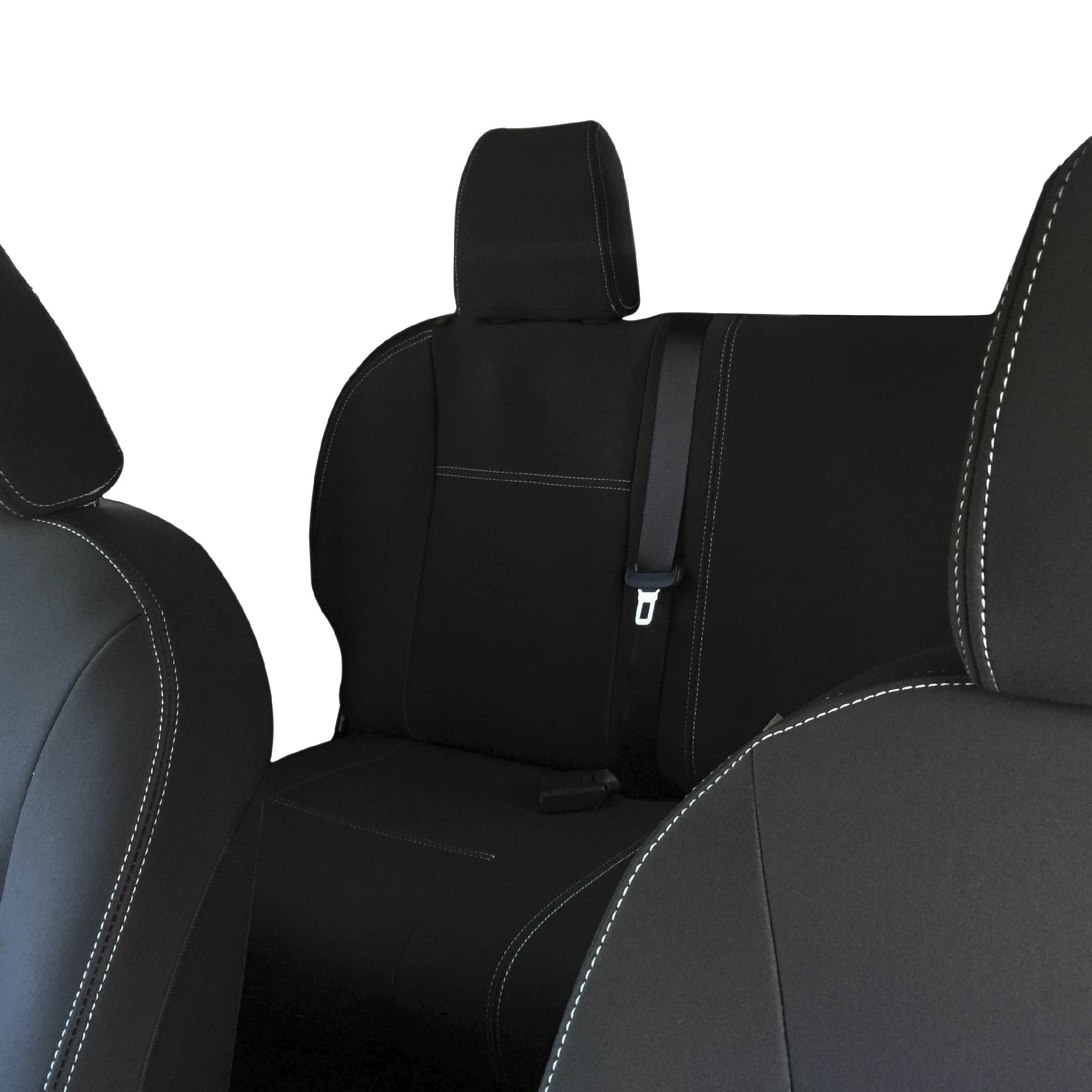 Heavy Duty Black Waterproof Car Seat Covers 2 x Fronts FITS NISSAN X-TRAIL