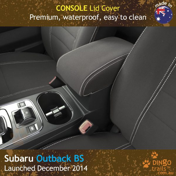 Neoprene CONSOLE Lid Cover for Subaru Outback BS