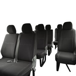 Custom Fit, waterproof, Neoprene 12 Seater Bus PASSENGER Seat Covers.