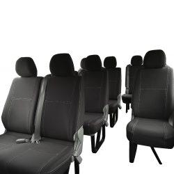 Custom Fit, waterproof, Neoprene 12 Seater Bus PASSENGER Seat Covers.