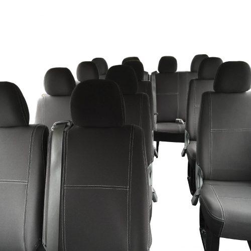 Custom Fit, waterproof, Neoprene 14 Seater Bus PASSENGER Seat Covers.