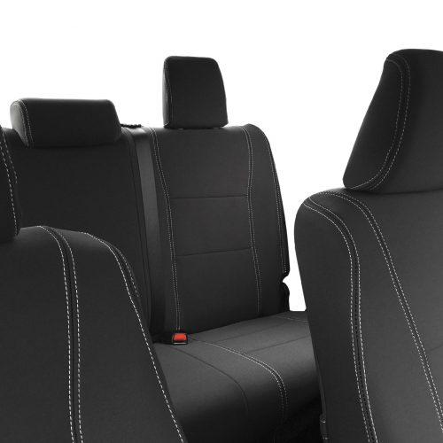 Custom Fit, waterproof, Neoprene Toyota Hilux MK.8 Workmate FULL-BACK Front & REAR Seat Covers.