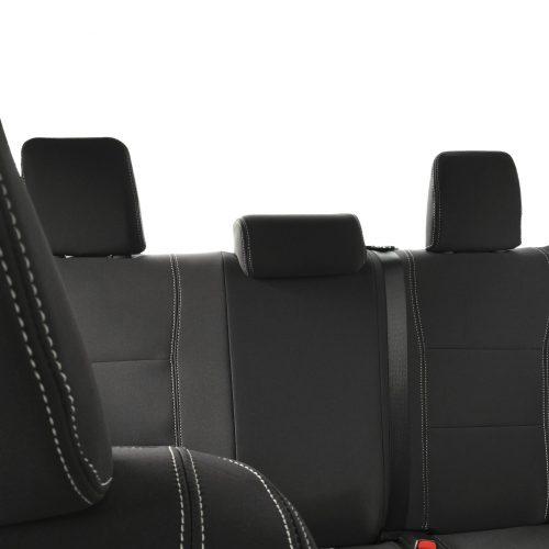 Custom Fit, waterproof, Neoprene Toyota Hilux MK.8 Workmate FRONT & REAR Seat Covers.