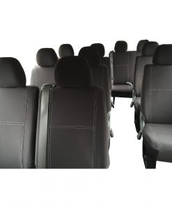 Custom Fit, waterproof, Neoprene 14 Seater Bus PASSENGER Seat Covers.