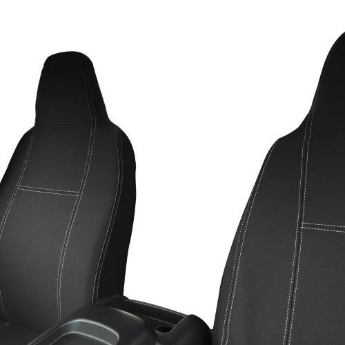 Custom Fit, waterproof, Neoprene Toyota Hiace H200 FULL-BACK Front Seat Covers.