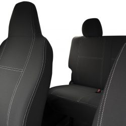 Custom Fit, waterproof, Neoprene Toyota Hiace Crew Van H200 FULL-BACK Front & REAR Seat Covers.