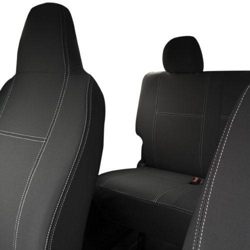Custom Fit, waterproof, Neoprene Toyota Hiace Crew Van H200 FULL-BACK Front & REAR Seat Covers.