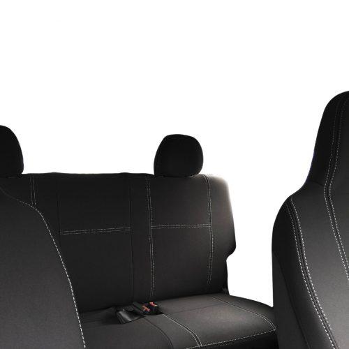 Custom Fit, waterproof, Neoprene Toyota Hiace Crew Van H200 FRONT & REAR Seat Covers.
