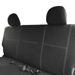 Custom Fit, waterproof, Neoprene Toyota Hiace Crew Van H200 Full-back REAR Seat Covers.