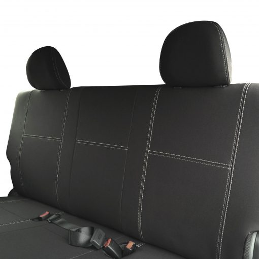 Custom Fit, waterproof, Neoprene Toyota Hiace Crew Van H200 Full-back REAR Seat Covers.