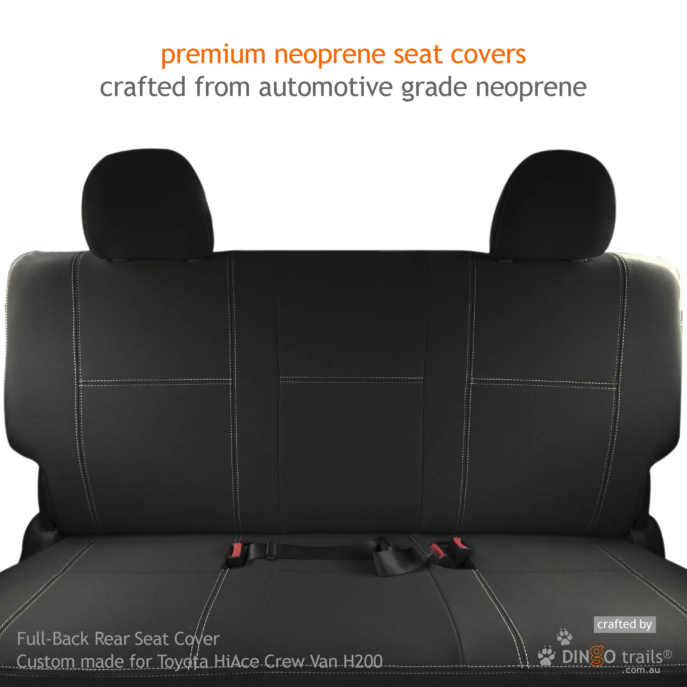 100/% WATERPROOF Front Single Seat Cover PREMIUM H Duty to fit Vauxhall Astra Van