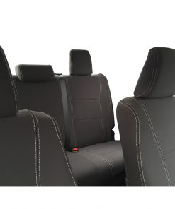 Custom Fit, waterproof, Neoprene Toyota Hilux MK.8 Workmate FULL-BACK Front & REAR Seat Covers.