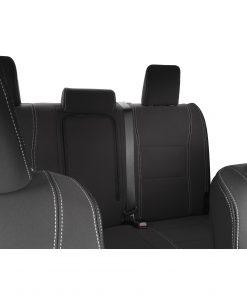 Custom Fit, waterproof, Neoprene Toyota Hilux MK.8 SR SR5 FRONT & REAR Seat Covers.