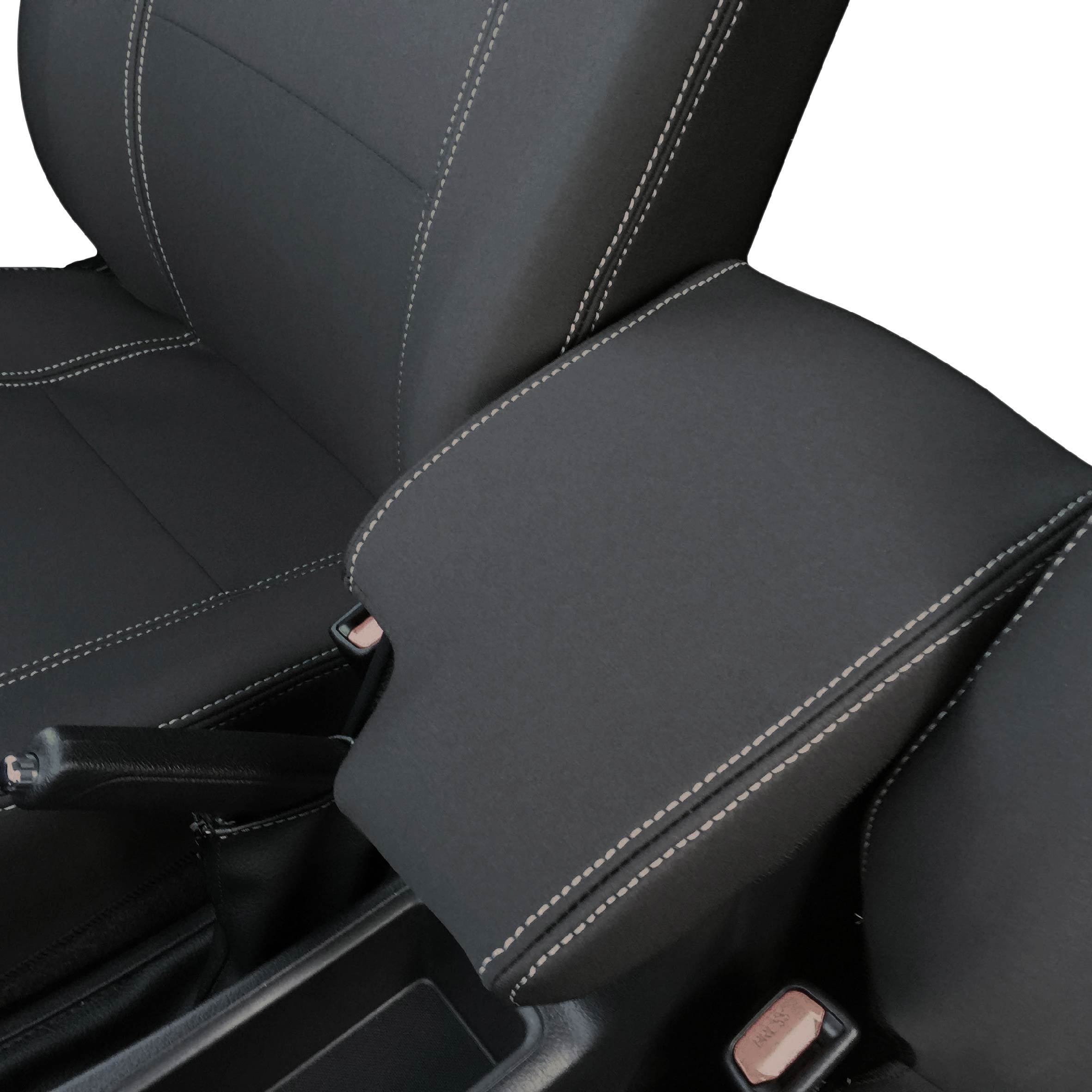 CONSOLE LID COVER Mitsubishi Pajero 2000-Now 100/% WATERPROOF PREMIUM NEOPRENE