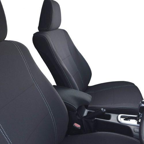 Custom Fit, waterproof, Neoprene Toyota Hilux MK.8 SR SR5, Toyota Hilux MK.8 Workmate FRONT Seat Covers.