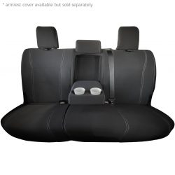 Custom Fit, waterproof, Neoprene Toyota Hilux MK.8 SR SR5 REAR Seat Covers.