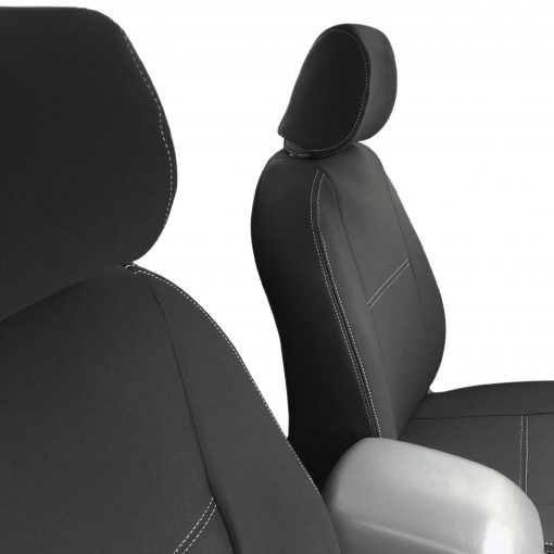 Custom Fit, Waterproof, Neoprene Toyota Hilux Suits SR, SR5, WorkMate FULL-BACK Front & REAR Seat Covers.