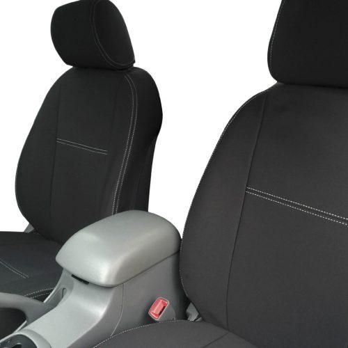 Custom Fit, Waterproof, Neoprene Toyota Hilux, SR, SR5, WorkMate FRONT & REAR Seat Covers.