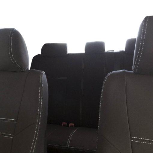 Custom Fit, Waterproof, Neoprene Toyota Hilux MK.7 - Sprots FULL-BACK Front & REAR Seat Covers.