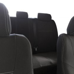 Custom Fit, Waterproof, Neoprene Toyota HILUX MK.7 - SPORTS FRONT & REAR Seat Covers.