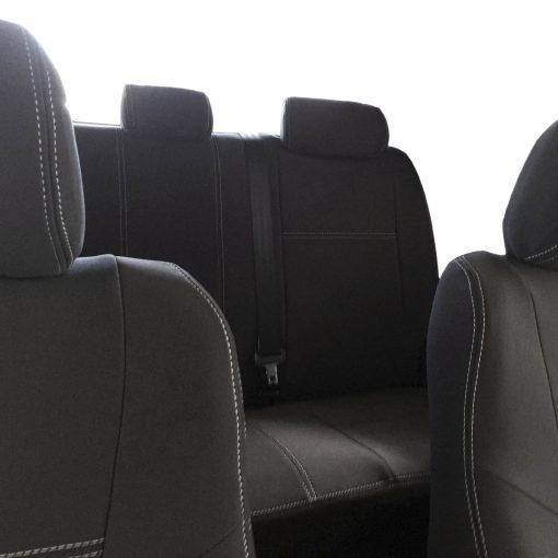 Custom Fit, Waterproof, Neoprene Toyota HILUX MK.7 - SPORTS FRONT & REAR Seat Covers.