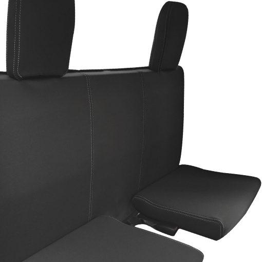 Custom Fit, waterproof, Neoprene Toyota Hilux MK.8 SR SR5 EXTRA CAB REAR Seat Covers.