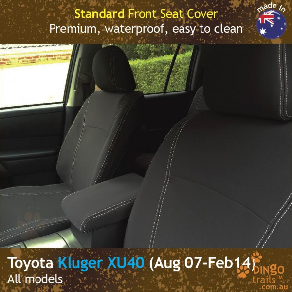 Neoprene FRONT Seat Covers for Toyota Kluger XU40
