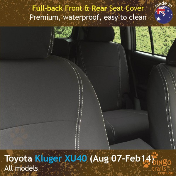 dingotrails.com.au Toyota Kluger XU40 Neoprene Seat Covers (TK07)q-01