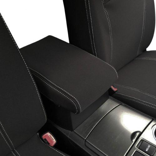 Custom Fit, Waterproof, Neoprene Toyota Kluger XU40 CONSOLE Lid Cover.