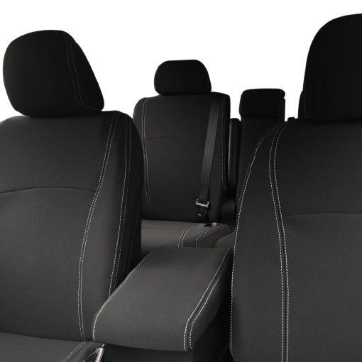 Custom Fit, Waterproof, Neoprene Toyota Kluger XU40 FRONT & REAR Seat Covers.