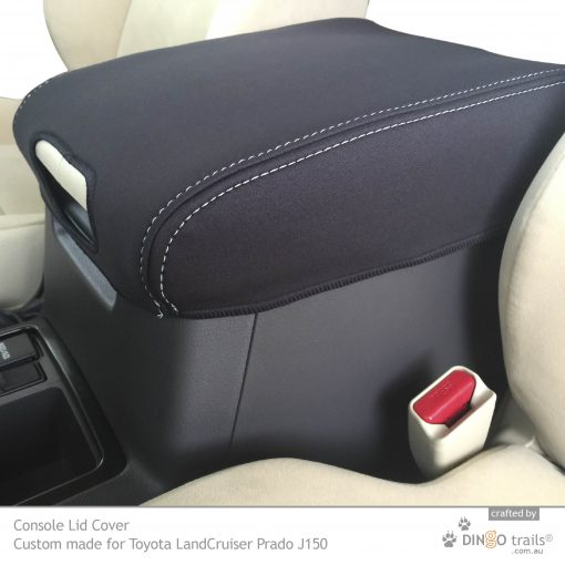 Custom Fit, Waterproof, Neoprene Toyota Prado J150 CONSOLE Lid Cover.