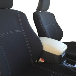 Custom Fit, Waterproof, Neoprene Toyota Prado J150 FULL-BACK Front Seat Covers.