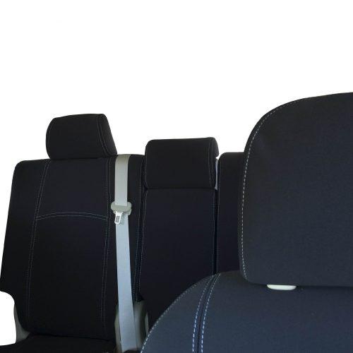 Custom Fit, Waterproof, Neoprene Toyota Prado J150 FRONT & REAR Seat Covers.