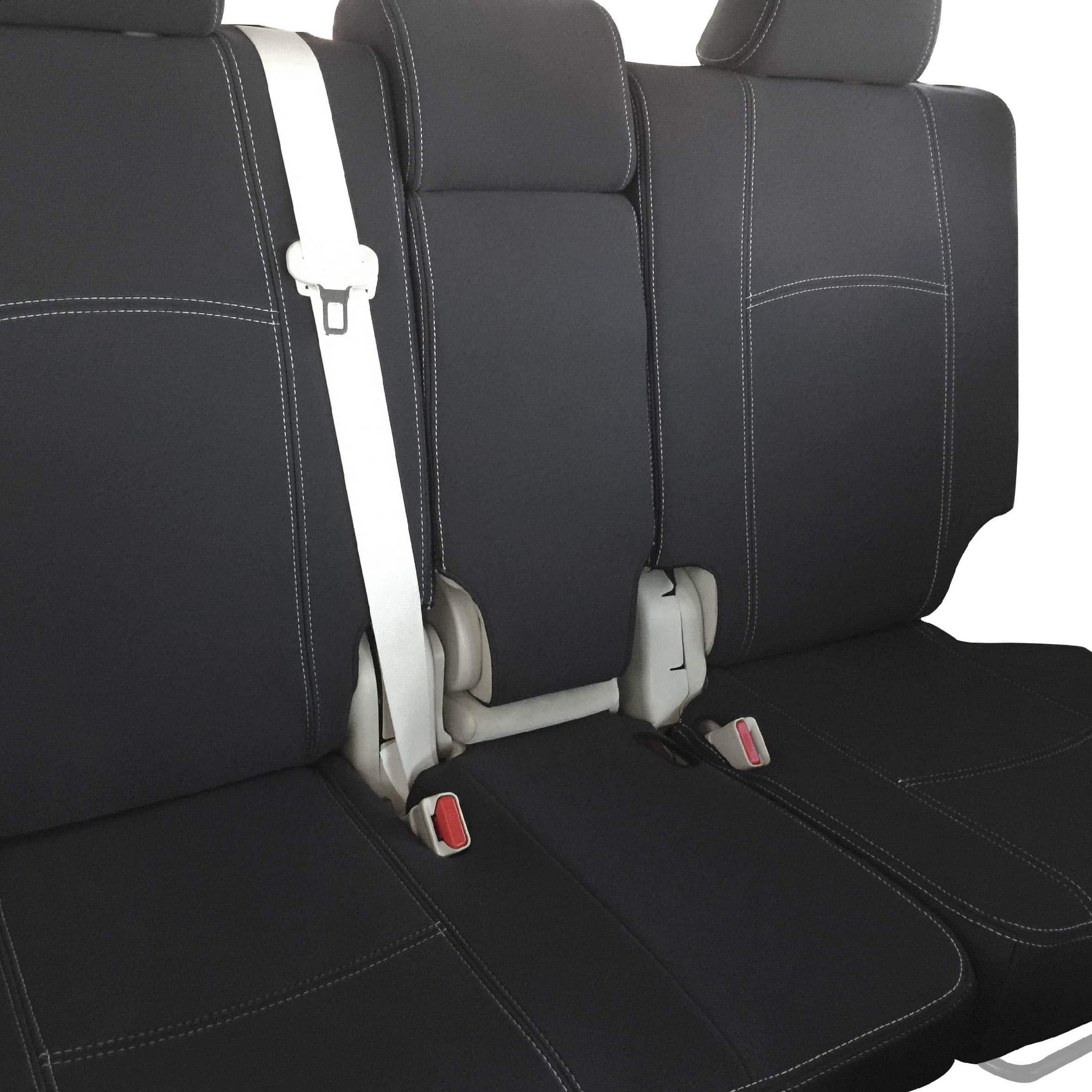 Seat Cover Fit Toyota Landcruiser 100 Series  Rear Full-back Premium Neoprene