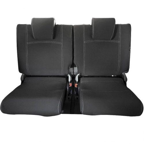 Custom Fit, Waterproof, Neoprene Toyota Prado J150 THIRD ROW Seat Cover.