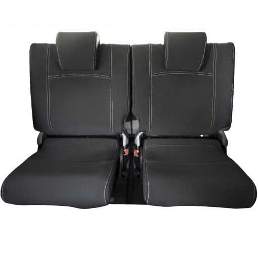 Custom Fit, Waterproof, Neoprene Toyota Prado J150 THIRD ROW Seat Cover.