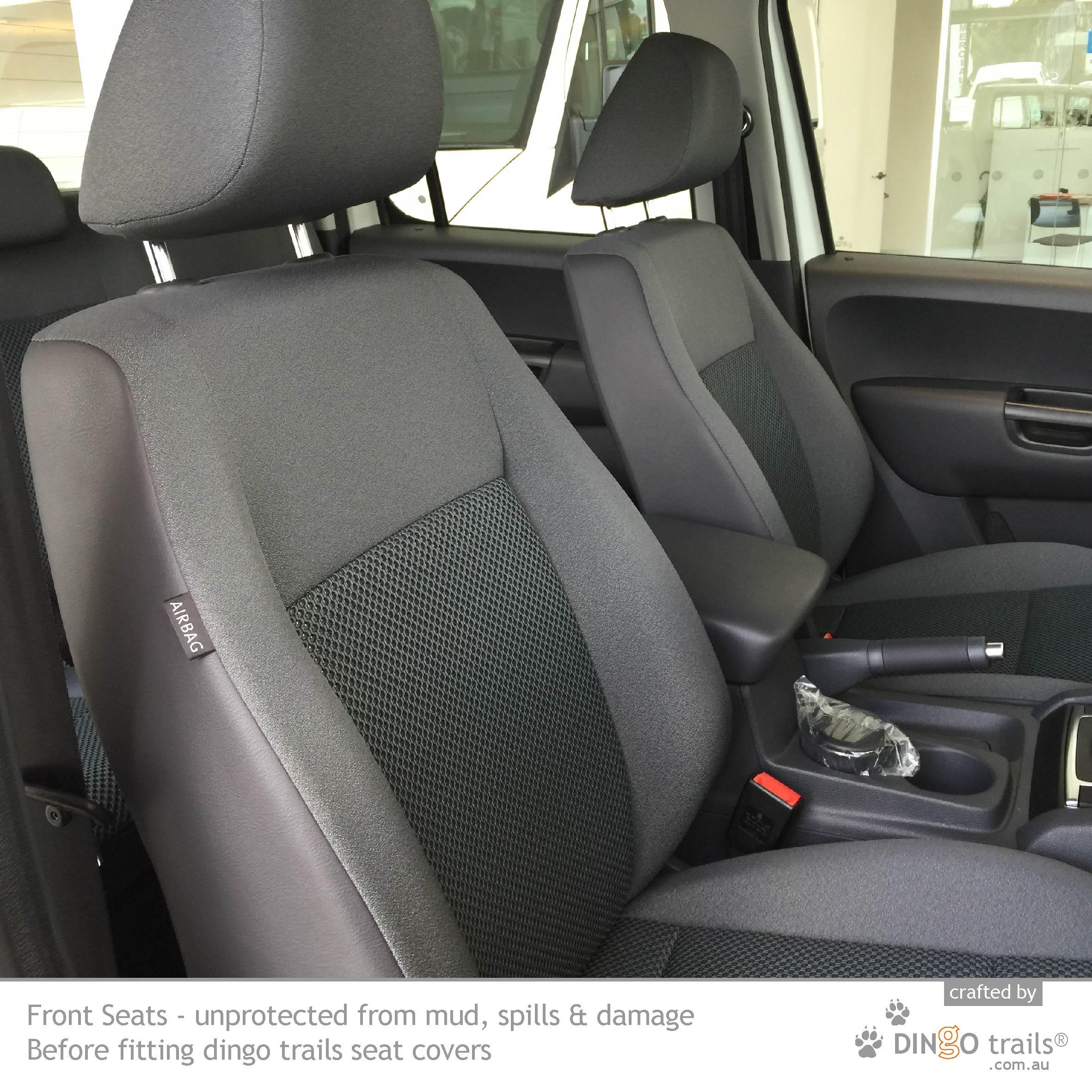 Seat Covers Snug Fit Volkswagen Amarok FRONT Premium Neoprene Waterproof